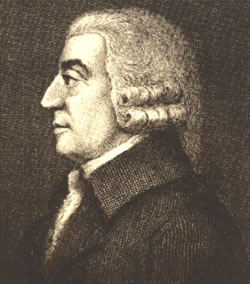 Adam Smith, father of modern Economics.