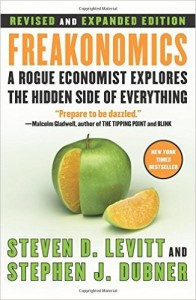 Freakonomics: a book for unconventional thinkers and practical millenial economist